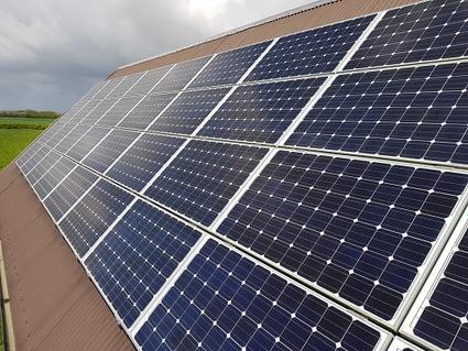 Commercial Solar Installation